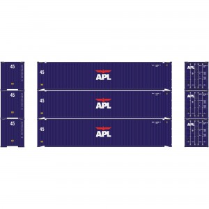 Athearn RTR 45' Container APL (3)