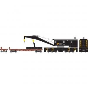 Athearn RTR 200-Ton Crane with Tender