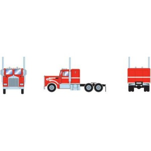 Athearn RTR Kenworth Tractor, Red/White
