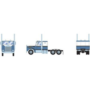 Athearn RTR Kenworth Tractor, Blue/White