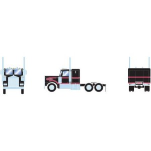 Athearn RTR Kenworth Tractor, Black/Red