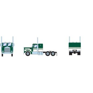 Athearn RTR Kenworth Tractor, Green/White