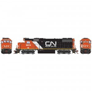Athearn Genesis GP38-2 CN IC with Website Logo