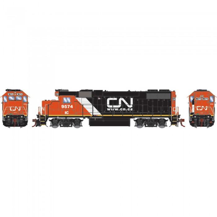 Athearn Genesis GP38-2 with DCC & Sound CN IC Website Logo