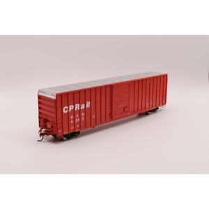 Athearn HO RTR FMC 60' Hi-Cube Ex-Post Box, CPR/Red #4214