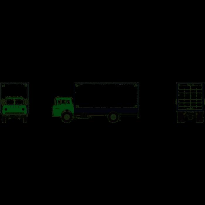 Athearn HO RTR Ford C Box Van