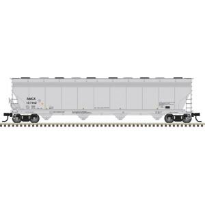 Atlas Model Railroad Co. ACF 5800 4-Bay Plastics Covered Hopper