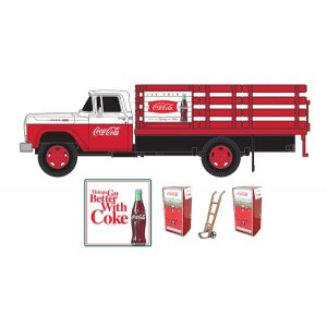 Classic Metal Works 1960 Ford Stakebed Truck with Vending Machines