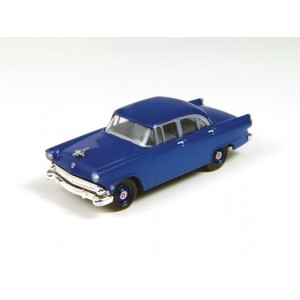 Classic Metal Works HO 1955 Ford Mainline Sedan, Banner Blue