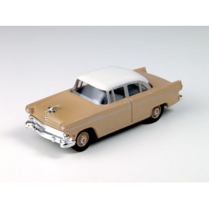 Classic Metal Works HO 1955 Ford Customline Sedan, Buckskin Brown