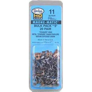Kadee Quality Products #11 Bulk Pack No.5(R) Knuckle Couplers