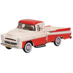 Oxford Diecast 1957 Dodge D100 Sweptside Pick Up Truck