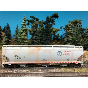WalthersMainline 60' NSC 5150 3-Bay Covered Hopper