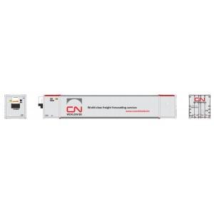 Rapido CN Worldwide (CNRU) 53′ high-cube container (2-pack)