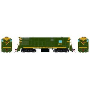 Rapido HO Scale H16-44 CN Green & Gold Scheme DC