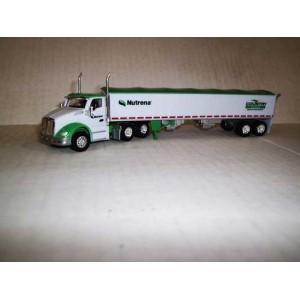 Trucks n Stuff Kenworth T680 Day-Cab Tractor with Grain Trailer