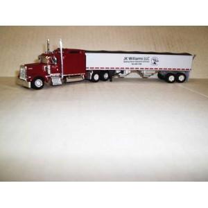 Trucks n Stuff Kenworth W900L Sleeper-Cab Tractor with Grain Trailer