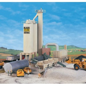 Walthers Cornerstone Black Gold Asphalt Hot Mix Plant