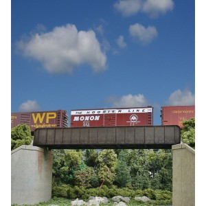 Walthers Cornerstone 70' Single-Track Railroad Through Girder Bridge