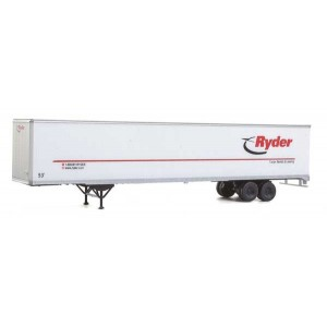 Walthers SceneMaster 53' Stoughton Trailer 2-Pack