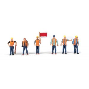 Walthers SceneMaster Railroad Track Workers pkg(6)