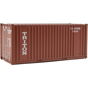 Walthers SceneMaster 20' Corrugated Container with Flat Panel
