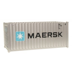 Walthers SceneMaster 20' Corrugated Container